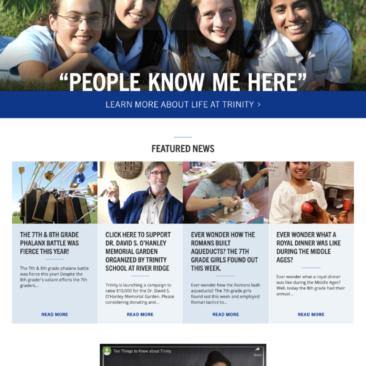 Trinity Schools Website